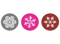 snowflake icons #jacobs #adidas #ryan #icons