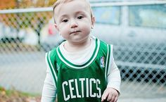 Celtics Fan – Eleni365, Photoblog by Alen Abdula #photography #celtics #baby