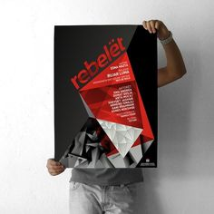projectgraphics - typo/graphic posters #kosovo #prishtina #rebelt #projectgraphics #poster #play #thetre