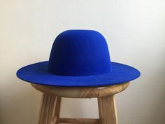 cobalt blue hat