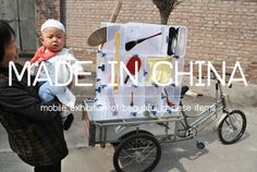 A mobile exhibition of beautiful Chinese items #products #design #exhibition #china #mobile #items