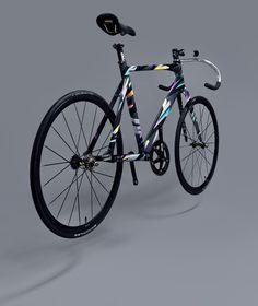 DeathSprayCustom big bang track bike #bike #dsc #deathspraycustom