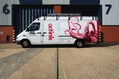 FELT #flach #branding #van #tim #livery #felt #photography #octink #logo