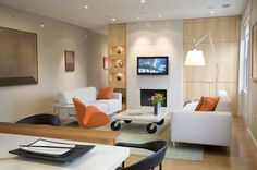 Home FORMA Design Open Plan Apartment Design Ideas in Kalorama by FORMA Design Interior Photos #interior #design #decor #home #furniture #architecure