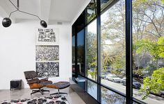 The Richardson / Dondoe Loft by Workshop for Construction #interior #miller #glass #herman #eames