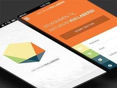 Kullaberg mobile application #phone #ui