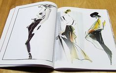 final fashion » admiration and inspiration – Fashion Illustration Today (1994) #fashion #illustration #cooper #michael