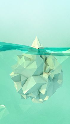 GEO A DAY #iceberg #geo #polygons