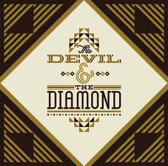 Ty Wilkins - Matuto #lettering #devil #diamond #ty wilkins