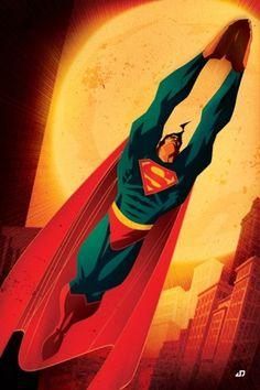 DC Comics / Misc. Cover Art on the Behance Network #cover art #comic #superman #juan doe