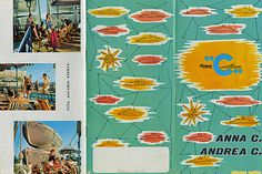 Costa Cruises #wolfsonian #vintage #brochure