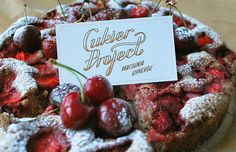 #cake #sweets #businesscard #lettering #identity