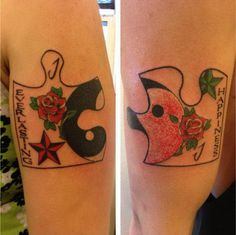 40+ Cool Puzzle Piece Tattoo Design Ideas