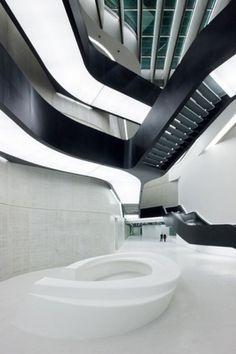 Zaha Hadid Architects » MAXXI: MUSEUM OF XXI CENTURY ARTS #rome #hadid #maxxi #zaha #architecture