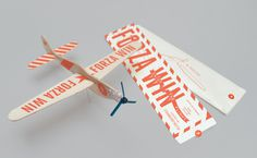Forza Win | Arch MC #packaging #air #print #wing #screen #plane #glider #toy