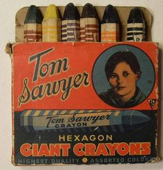 Vintage Crayons | CMYBacon #crayon #vintage