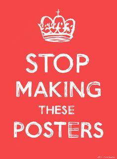 poster, humor, print