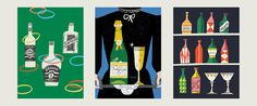 DKroll_Vintage_Cocktails_11 #illustration
