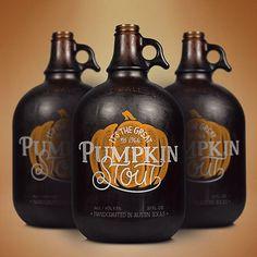 Pumpkin Stout Growler