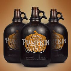 Pumpkin Stout Growler #growler #beer