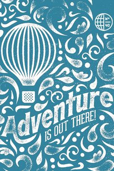25516129797_iphone.jpg (JPEG Image, 640 × 960 pixels) #typography #type #travel #balloon #postcard #adventure
