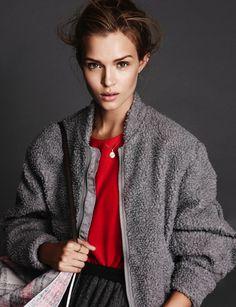 Josephine Skriver by Jimmy Backius for Elle Sweden