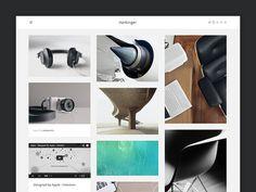 Harbinger Tumblr Theme #web design #blog
