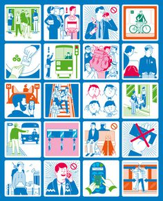 Kokoro & Moi – HSL – Helsinki Regional Transport Authority #illustration