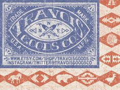 Travois_usa_logo #industrial #vintage