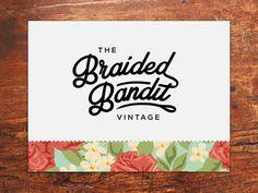 Bandit Vintage Rebrand WIP #type #brand #vintage #typography