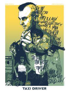 Gabz illustration movie posters