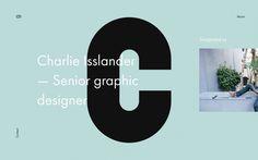Charlie Islander www.charlieisslander.com portfolio webdesign minimal beautiful best modern simple clean prague czech republic mindsparklema