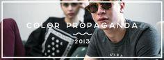 Color Propaganda Spring Collection 2013 Lookbook on Behance #propaganda #lookbook #color #spring #sum