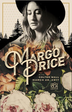 MARGO PRICE – Born to Ramble Tour – Tickets – 1884 Lounge – Memphis, TN – March 28th, 2017 | Ticketfly