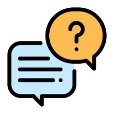 See more icon inspiration related to question, talk, chat, text, conversation, answer, commerce and shopping, communications, speech bubble and message on Flaticon.