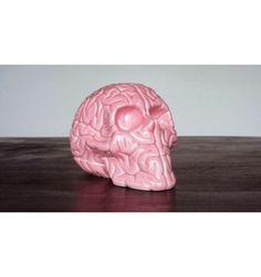 Skull Brain 'PINK' by Emilio Garcia #porcelain #brain #excellence #luxe #skull
