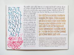 Joan Quirós - #Calligraphy Journal