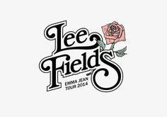 Lee Fields Logo for Emma Jean Tour 2014 #leefields #hightide #truthandsoul #hightidecreative #music #logo