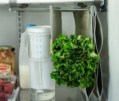 Fabrack is an expandable, hanging storage solution for the refrigerator, that prevents food from being crushed or forgotten.