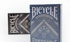 Bicycle Playing Cards Packaging #glitter #tape #bicycle #card #playing #duct #illustration #mid #century #modernism