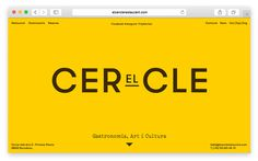 Website for El Cercle #logo