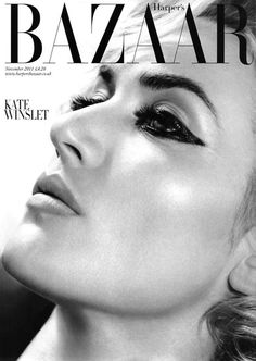 Kate Winslet by Tom Munro for UK Harpers Bazaar November 2011 #fashion #cover #photography #magazine