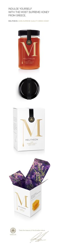 Melitheon Honey on Behance