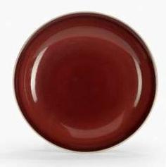 A fine copper red glazed porcelain plate #Sets #Teasets #Porcelainsets #Antiqueplates #Plates #Wallplates #Figures #Porcelainfigurines #porcelain
