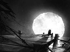 haunted, illustration