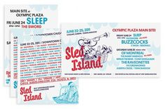 Sled Island 2011 - Working Format #branding #festival #print #flyer #illustration #identity #music