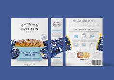 Bread Tin Bakery #packaging #bread #baking #illustration #branding #design #packaging #bread #baking #illustration #branding #design