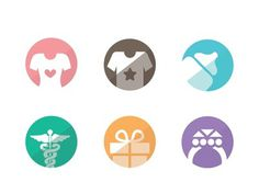 Free Vector Category Flat Icons