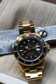 ethandesu #rolex #gold #watch