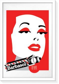 Barbasol Vintage Ad